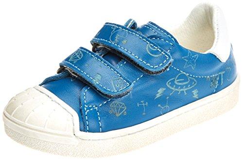 art Kids Jungen Star Sidney Slip On Sneaker, Blau (Reef), 26 EU