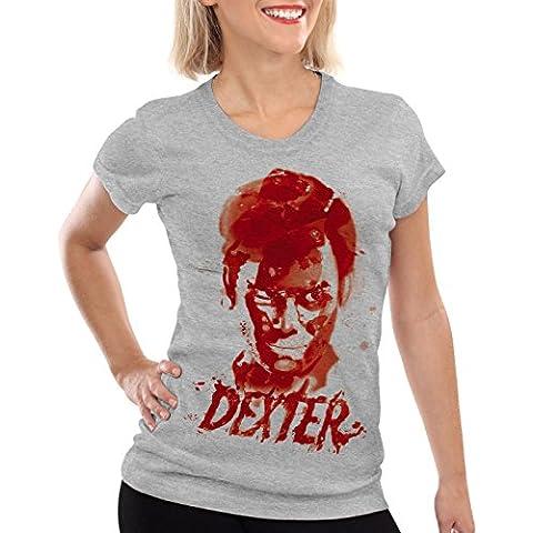 style3 Dexter reguero de sangre Camiseta para mujer T-Shirt erie asesinato morgan