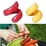 Aubess 2pz/set Sausage cutter set di plastica per alimenti–manuale Fancy salsiccia taglierina a spirale per barbecue Hot Dogs affettatrice