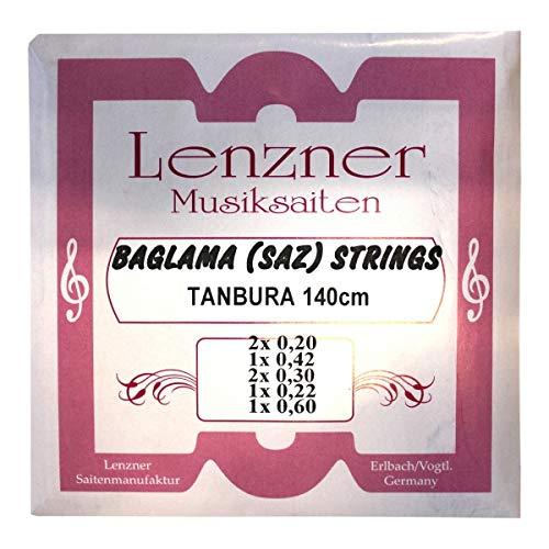 Lenzner 2920   Saiten für TANBURA Baglama   SAZ-Saiten   NEU