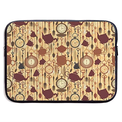 Breakfast Time Items Teacup 13-15 Inch Laptop