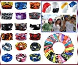 #6: Home buy, 10 pc Bandana Bikers Motorcycle Riding Neck Face Mask Protection Tube Head Bands For-Royal Enfield Continental GT