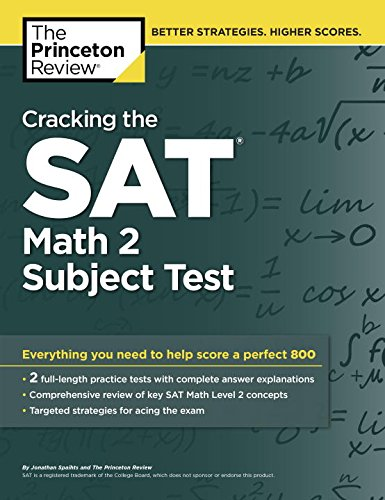 Cracking the SAT Math 2 Subject Test (Cracking the Sat Math Subject Test)