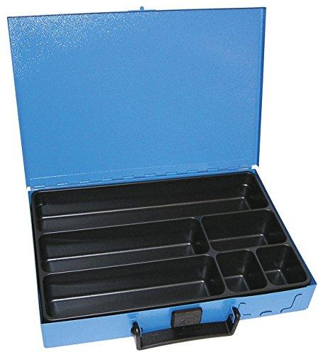 Dresselhaus Sortimente Sortiments-Kasten komplett mit Inlett, 6-fach, unbestückt, 1 Stück, 0/4499/000/8580/06