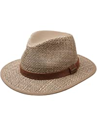 Stetson - Chapeau fedora homme Medfield Seagrass