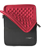 X-super Samsung Samsung Galaxy Tab A 9.7 SM-T550/E 9.6 T560, T561 Sleeve Travel Carrying Bag Neoprene Shockproof Incase with Side Pocket (Red)
