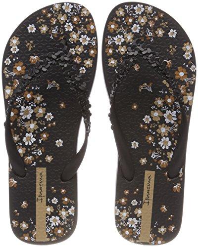 Ipanema Damen Fashion Floral FEM Zehentrenner, Mehrfarbig Black, 39 EU