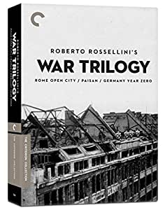 Criterion Collection: Rossellini's War Trilogy [DVD] [1948] [Region 1] [US Import] [NTSC]