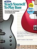 Alfred's Teach Yourself to Play Bass - Everything You Need to Know to Start Playing Now! (incl. DVD)