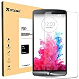 Coolreall Film Protection d'écran en Verre Trempé pour LG G3 (0,33mm HD Ultra transparent)
