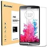 Coolreall LG G3 Vidrio templado Protector de Pantalla ( alta Definicion HD 0.33mm ultra delgado)