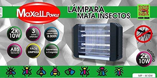 MAXELL POWER LAMPARA ELECTRICA ANTIMOSQUITOS ANTI MOSQUITOS INSECTOS 50M 20W MATAMOSQUITOS