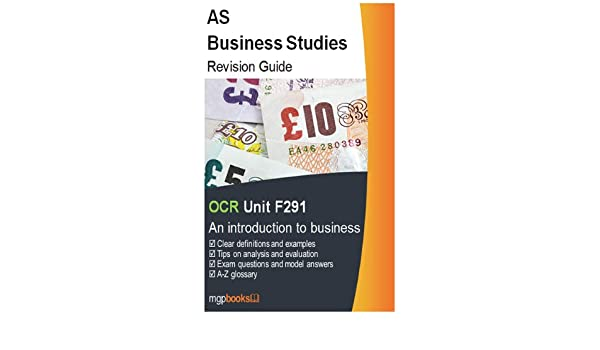 AS Business Studies - Revision Guide - OCR Unit F291 eBook: mgp
