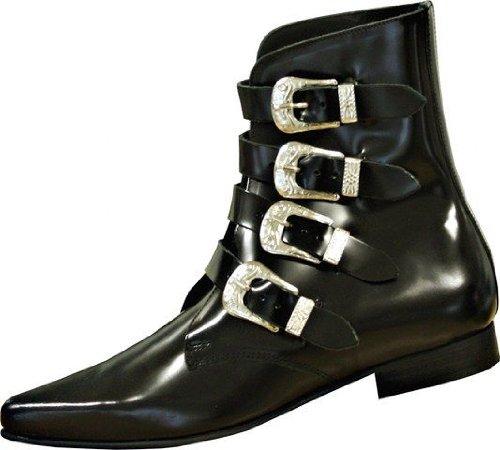 Boots & Braces - Winkelpiker 4 Schnallen schwarz Noir - Noir