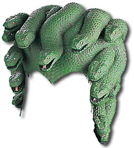 Medusa Kopfschmuck mit Schlangen