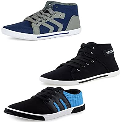 Fu-Zone Men's Combo Of 3 Casual Shoes-6