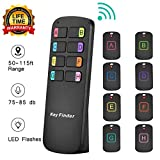 Key Finder,8 in 1Wireless Key Tracker Remote Control RF Item Locator with LED