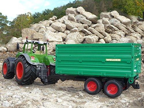 RC Traktor kaufen Traktor Bild 1: WIM-Modellbau RC Traktor FENDT 1050 Anhänger in XL Länge 74cm Ferngesteuert*