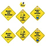Safety First Baby Car Stickers
