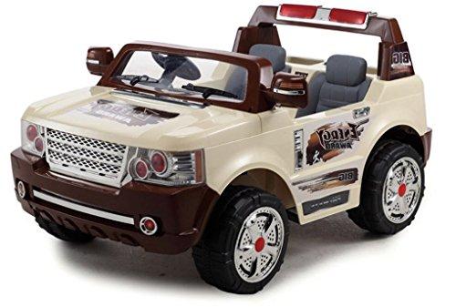 Auto Elettrica Per Bambini Jeep Magnum 2 Posti Enorme 24v Con