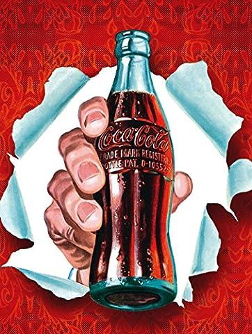 Coca Cola Boîte métal Cadeau de plaque murale Mur (484)