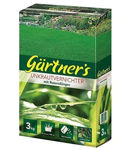 Gärtner's Rasendünger mit Unkraut-Vernichter