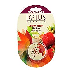 Lotus Herbals Lip Balm Strawberry, 5g