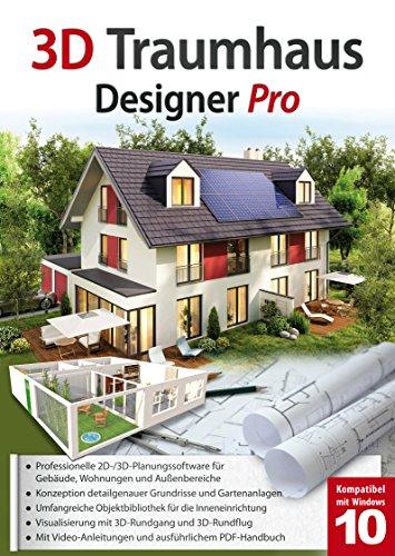 3D Traumhaus Designer PRO - für die Architektur, Haus, Wohnplaner, Garten - für Windows 10-8-7 (Garten 3d)