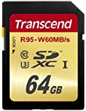 Transcend 64GB SDXC Memory Card Class 3 UHS