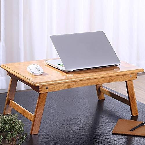 Qiuoorsqurp Bett mit klappbarem Tischchen, Laptop-Faulpult, Frühstückstablett, multifunktional (Size : 60cm)