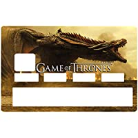 DECO-IDEES Game of Thrones, Credit card Sticker, limited edition 300 ex. - Personalize Your Credit Card Visa or MasterCard with These Removable Stickers