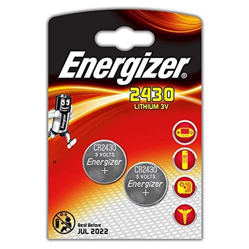 Energizer 2430 Lithium Knopfzelle, 2er Stück