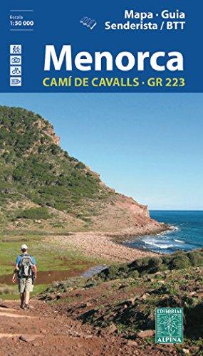 Menorca. Cami de Cavalls. GR-223. Catala. Mapa de carreteras. Escala 1:50.000. Editorial Alpina. epub