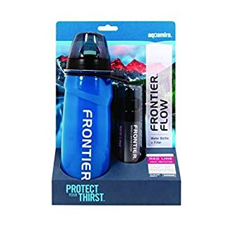 Aquamira Frontier 22 Oz Water Bottle and Virus Filter by Aquamira