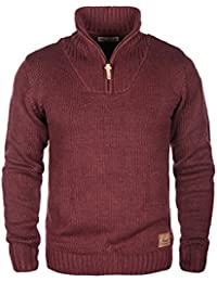 SOLID Petro - Pull en Maille- Homme