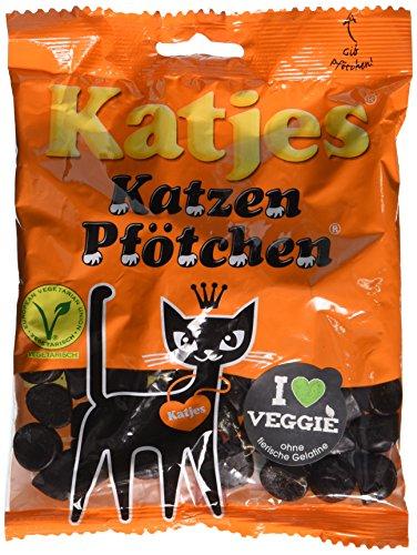 Katjes Katzen Pfötchen (Beutel mit 175 g)