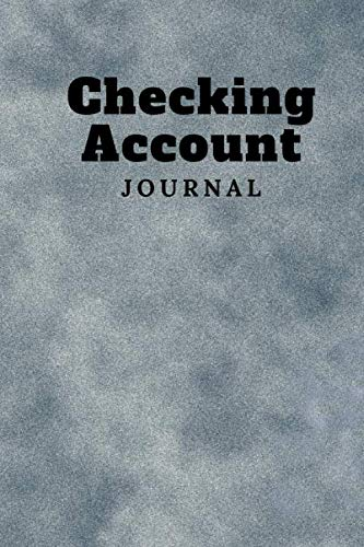 Checking Account Journal