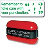 "Primary Teaching Services ""Remember to Take Care with your Punctuation"" School Marking Stamper"