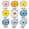 Kinderlampe Kreis mit Stern mit Nachtlicht (Orange) Deckenlampen Kinderzimmerlampen Deckenleuchte Babyleuchte Babylampe