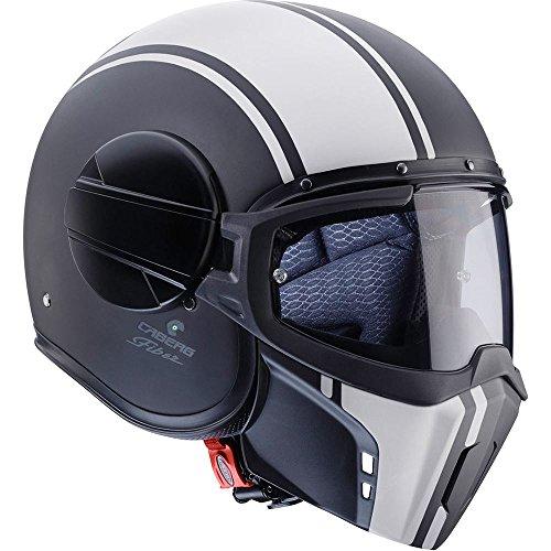 Caberg fantasma Modular Open Face casco de moto–leyenda negro/bl