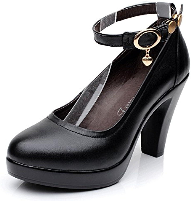 SANDALIAS De Tacón Alto De Verano 8cm/11cm, Cuña De Moda, Zapatos De Mujer Sexy Banquete De Las Mujeres (Color... -