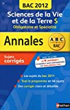 ANNALES BAC 2012 SVT TS OBLI +