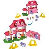 Little People - Set de juego, Casa sonidos divertidos (Mattel Y9359)
