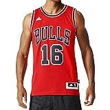 Adidas Maillot int swingman 16Bulls XS Rouge - Rouge/Noir