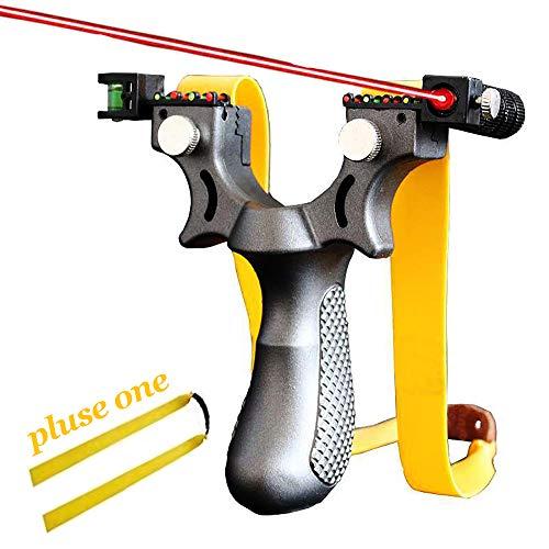 BASON Zwille Steinschleuder, Stahl Schleuder Katapult Steinschleuder Zwille Katschi Sportschleuder