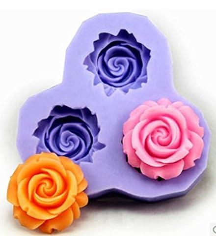 SaySure - Mini sugar candy chocolate mold resin flower ls soap