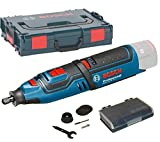 Bosch Professional GRO 12 V-35 Akku-Rotationswerkzeug ohne Akku, click&go, ohne Ladegerät in L-BOXX) 06019C5002