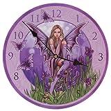 Bild Uhr - Fee mit Iris von Lisa Parker