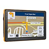 Sat Nav GPS Navigation for Car and 7 Inch 8GB High Definition Touch Screen with UK and EU Maps for Free Lifetime Updates