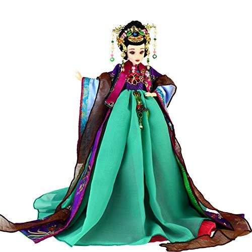 JaidWefj Schöne chinesische Kostüm-Puppe/bewegliche 12-gemeinsame Hua Rui Lady-Puppe - Hauptdekoration-Sammlung